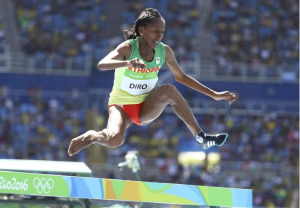 Etenesh Diro, Oromo athlete in Rio Olympics become an Olympic hero p1