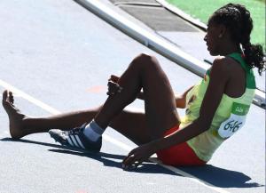 Etenesh Diro, Oromo athlete in Rio Olympics become an Olympic hero p2