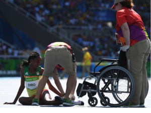 Etenesh Diro, Oromo athlete in Rio Olympics become an Olympic hero p3