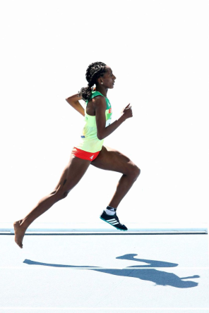 Etenesh Diro, Oromo athlete in Rio Olympics become an Olympic hero