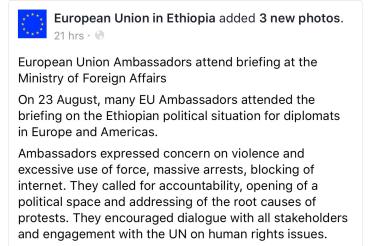 Oromia: #OromoProtests: Gabaasa Fincila Xumura Garbummaa