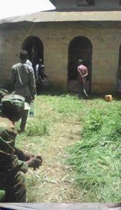 Fascist Ethiopia's regime's detaining and torturing Oromo children. This photo was taken at Iyasu IV prison in Gara Mulata, East Hararge, Oromia. 13 August 2016. p2