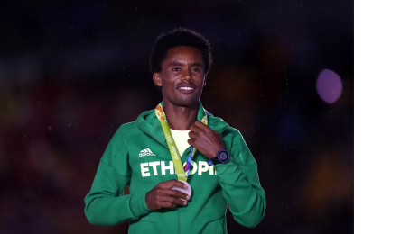 Fayyisaa lalisaa Oromo national hero, After received his Rio 2016 Olympic medal, 21 August 2016