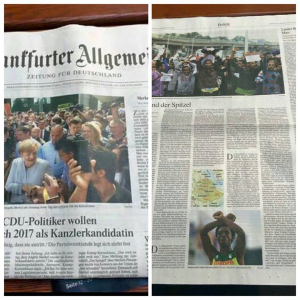 Frankfurter Allgemeine report on Oromo, #OromoProtests