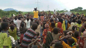 Grand #OromoProtests, Dire Qulu village, Bordade District, West Hararge, Oromia. 9 August 2016. p2