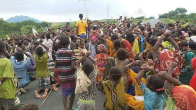 Grand #OromoProtests, Dire Qulu village, Bordade District, West Hararge, Oromia. 9 August 2016