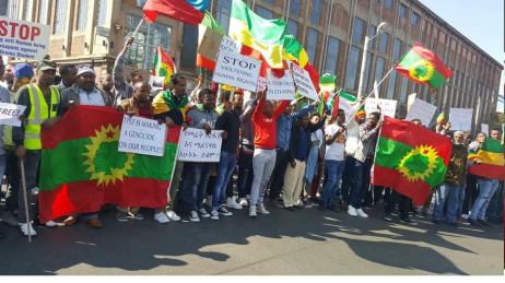 Grand #OromoProtests Global solidarity joint Ethiopians Rally Held in South Africa on 18 August 2016 p2
