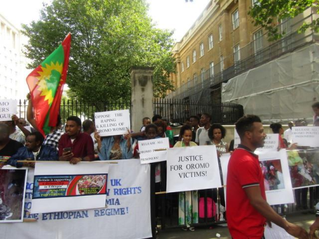 Grand #OromoProtests Global Solidarity Rally, 16 August 2016 Held in London p1