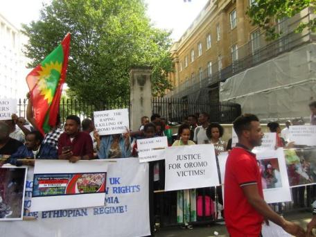 Grand #OromoProtests Global Solidarity Rally, 16 August 2016 Held in London p1