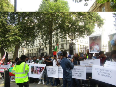 Grand #OromoProtests Global Solidarity Rally, 16 August 2016 Held in London p10