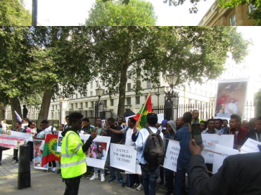 Grand #OromoProtests Global Solidarity Rally, 16 August 2016 Held in London p11