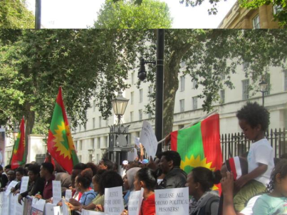 Grand #OromoProtests Global Solidarity Rally, 16 August 2016 Held in London p12