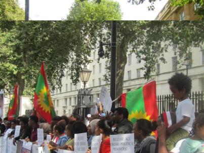 Grand #OromoProtests Global Solidarity Rally, 16 August 2016 Held in London p12
