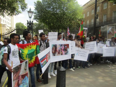 Grand #OromoProtests Global Solidarity Rally, 16 August 2016 Held in London p2