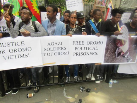 Grand #OromoProtests Global Solidarity Rally, 16 August 2016 Held in London p3
