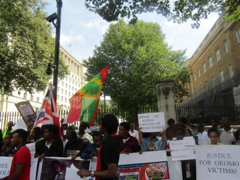 Grand #OromoProtests Global Solidarity Rally, 16 August 2016 Held in London p5