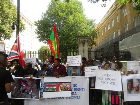 Grand #OromoProtests Global Solidarity Rally, 16 August 2016 Held in London p7