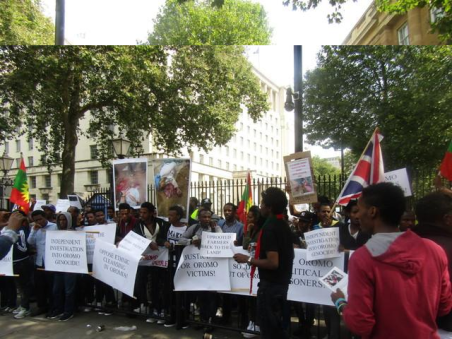 Grand #OromoProtests Global Solidarity Rally, 16 August 2016 Held in London p8