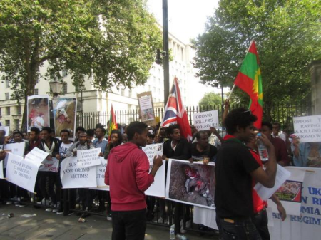 Grand #OromoProtests Global Solidarity Rally, 16 August 2016 Held in London