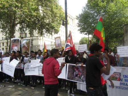 Grand #OromoProtests Global Solidarity Rally, 16 August 2016 Held in London