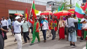 Grand #OromoProtests Global Solidarity Rally, 18 August 2016 Held in Little Oromia, Minnesota, USA. p1