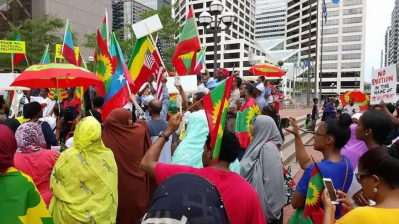 Grand #OromoProtests Global Solidarity Rally, 18 August 2016 Held in Little Oromia, Minnesota, USA. p2