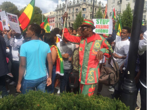Grand #OromoProtests Global Solidarity Rally in Oslo, Noraway, 19 August 2016 p1