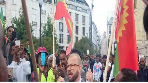 Grand #OromoProtests Global Solidarity Rally in Oslo, Noraway, 19 August 2016, p4