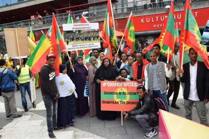 Grand #OromoProtests Global Solidarity Rally in Stockholm, sweden 19 August 2016 p1