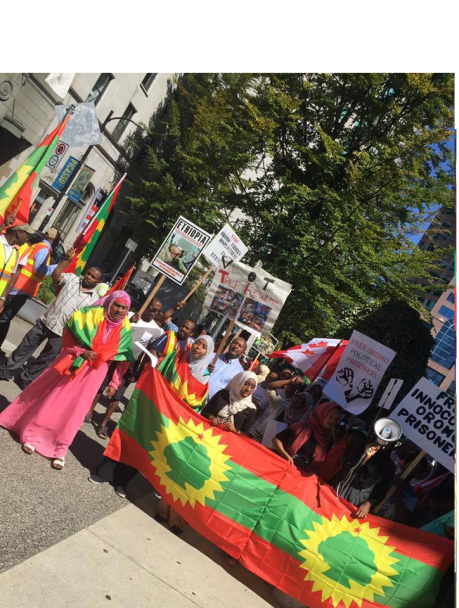 Grand #OromoProtests Global Solidarity Rally in Vancouver, Canada, 19 August 2016 p2