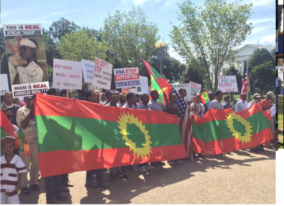 Grand #OromoProtests Global Solidarity Rally in Washington D.C., USA, 19 August 2016. p4