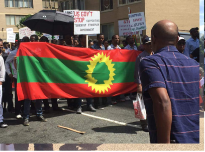 Grand #OromoProtests Global Solidarity Rally in Washington D.C., USA, 19 August 2016. p5