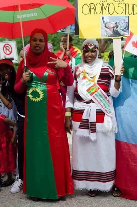 Grand #OromoProtests Global Solidarity Rally in Winnipeg, Manitoba,, Canada on 19 August 2016 p2