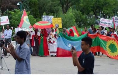 Grand #OromoProtests Global Solidarity Rally in Winnipeg, Manitoba, Canada on 19 August 2016 p5