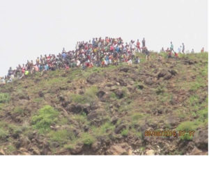 Grand #OromoProtests, Shaggar, East Shawa, , Walanchiti, 8 August 2016