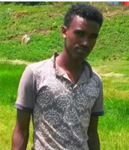Jamaal Abdalla Aadam, Oromo boy, star student, from Calanqoo kidnapped by Ethiopia's regime fascist forces on 6 August 2016