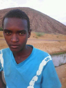 Oromo boy, 16 year old from Fantaallee kidnapped by Ethiopia's regime fascist forces on 17 August 2016