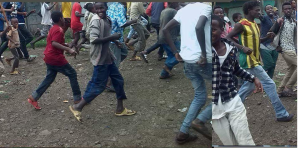 #OromoProtests 1st August 2016 in Baddeessa, Hararghe, Oromia. p1