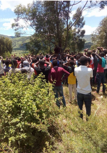 #OromoProtests 2nd August 2016, Funeral Service for Ibsa Ahmed, one of the people who were killed in Badessa town, West Hararge on August 1, 2016. p2