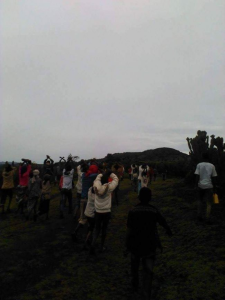 #OromoProtests, Qobboo town, Hararghe, Oromia 3 August 2016