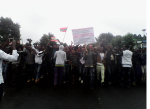 This Grand Oromia Rally is from Inchini, West Shawa. Grand #OromoProtests, 8 August 2016. p1