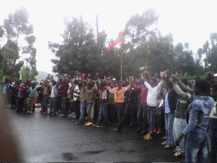 This Grand Oromia Rally is from Inchini, West Shawa. Grand #OromoProtests, 8 August 2016. p2