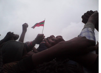 This Grand Oromia Rally is from Inchini, West Shawa. Grand #OromoProtests, 8 August 2016.