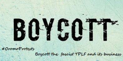 Boycott the fascist TPLF and its business. #OromoProtests #AmharaProtests