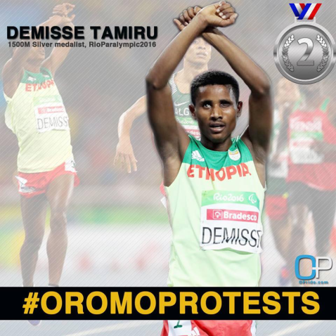 oromo-athlete-tamiru-demisse-in-solidarity-with-oromoprotests-reacts-after-the-final-of-mens-1500m-of-the-rio-2016-paralympic-he-is-the-silver-medal-winner