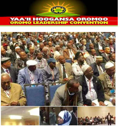 Oromo Leadership Convention 10-12 March 2017