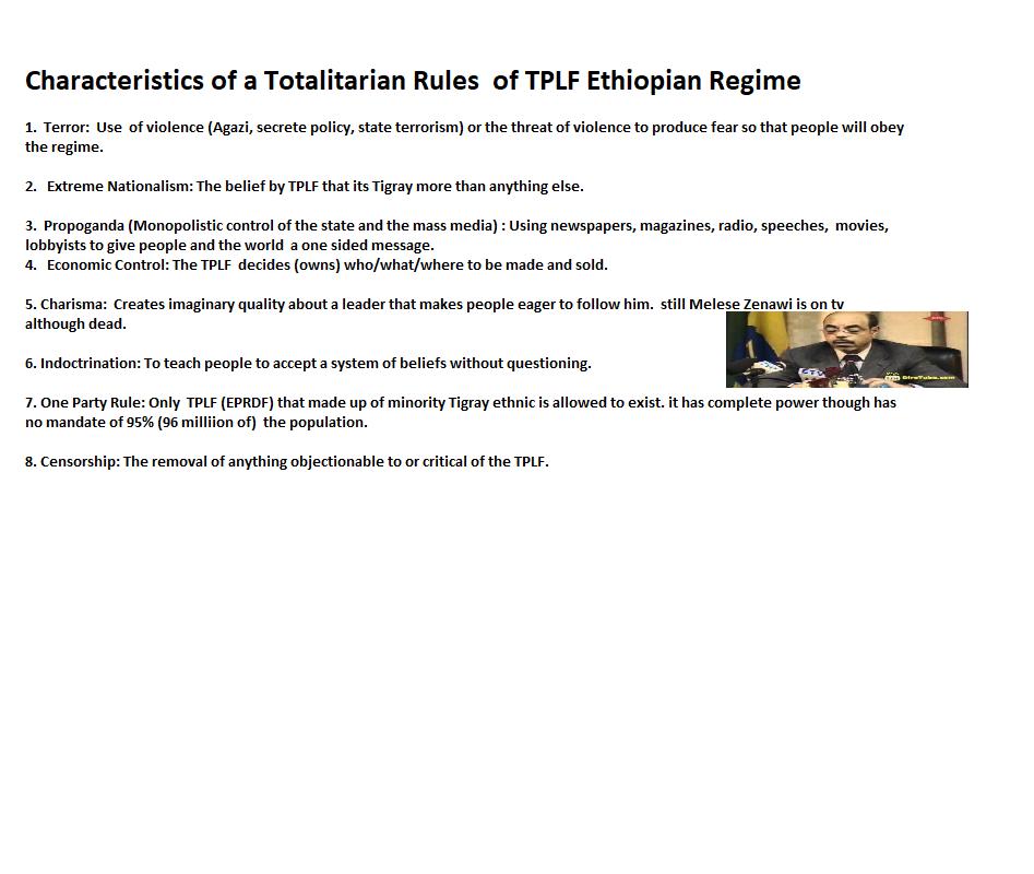 Characteristics of a Totalitarian Rules of TPLF Ethiopian Regime.png