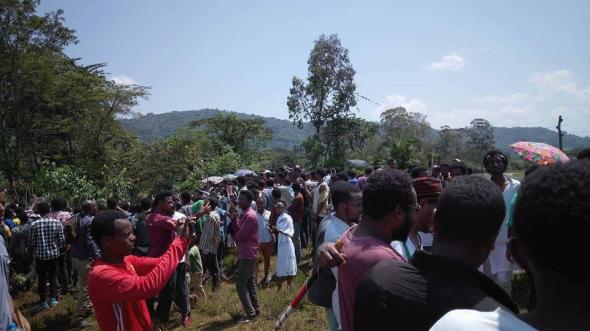 Irreecha Birraa 2017 at Malkaa Booyyee, Jimmaa Abba Jifar, Oromia on 22nd October 2017