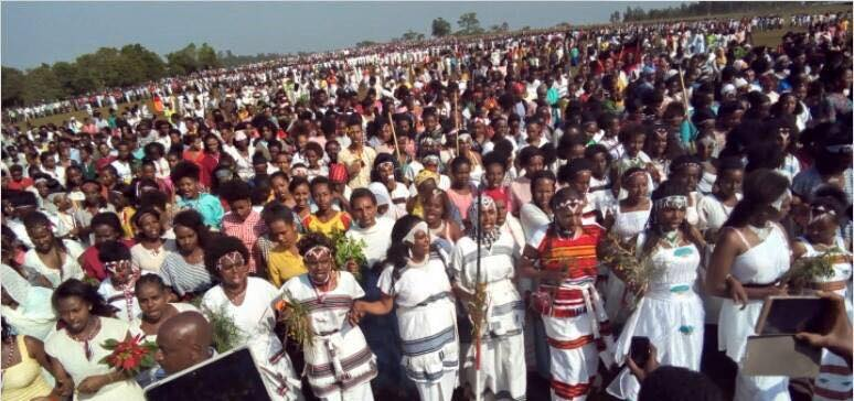 Irreecha Birraa 2017 Celebrated in Mandi, Wallaggaa, W. Oromia, 15th October 2017 after 88 years