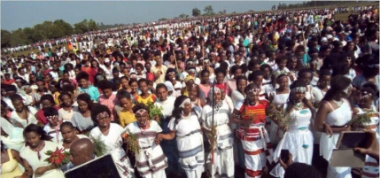 Irreecha Birraa 2017 Celebrated in Mandi, Wallaggaa, W. Oromia, 15th October 2017 after 88 years